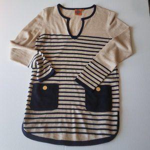 Tory Burch striped sweater small